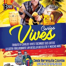 "Image for Carlos vives ""Yo me llamo"" Vives USA tour en vivo Viernes 13 de Dic en Q'viva!"