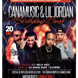 Image for CANAMUSIC & LIL JORDAN BIRTHDAY BASH / WITH LIVE PERFORMANCE BY NELLY NELZ