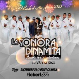 Image for Celebrando El Año Nuevo 2020 Con La Sonora Dinamita Con Vilma Diaz En Montebello,CA