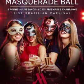 Image for International New Years Eve Masquerade Ball 2020