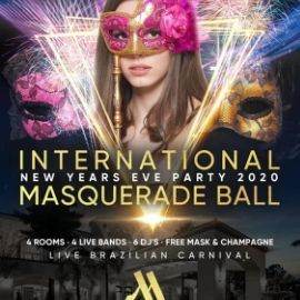 Image for New Years Eve Masquerade Ball 2020