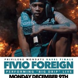 Image for Art Basel Weekend Finale Fivio Foreign Live At Exchange Miami
