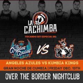 Image for TRIBUTO ANGELES AZULES VS KUMBIA KINGS CON LA CACHIMBA