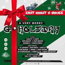 Image for East Coast G House Presents: G-Holiday Party- (Brooklyn @ The Well)