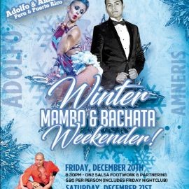 Image for Winter Mambo & Bachata Weekender - Live Music, Workshops & Performances