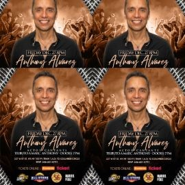 Image for MARC ANTHONY EL TRIBUTO BY ANTHONY ALVAREZ