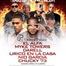 Image for DJ Pereira Christmas Concert El Alfa Myke Towers Darell Lirico En La Casa Nio Garcia & Chucky 73 Live With DJ Camilo At United Place