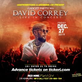 Image for GADGET PARTY w/ DAVID CORREY LIVE IN CONCERT