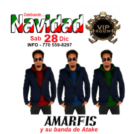 Image for Amarfis en VIP Room Atlanta Dic 28