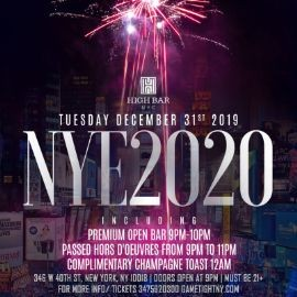 Image for Highbar New Years Eve NYE 2020