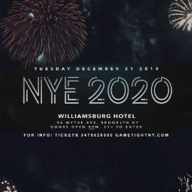 Image for The Williamsburg Hotel NYE New Years Eve 2020