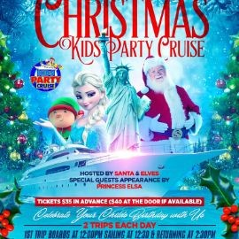 Image for Christmas Kids Party Cruise (3:30pm-6:00pm)