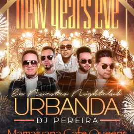 Image for New Years Eve Party -URBANDA en Vivo en Mamajuna Cafe Queens
