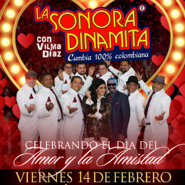 Image for LA SONORA DINAMITA EN LOS ANGELES