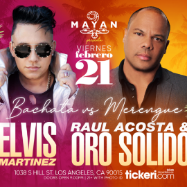 Image for ELVIS MARTINEZ Y ORO SOLIDO EN LOS ANGELES