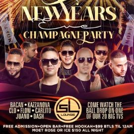 Image for NYE 2020 Champagne Party At SL Lounge