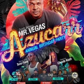 Image for Mr.vegas azucarr birthday party