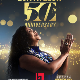 Image for Eva Ayllon 50 Aniversario En Boston, MA CANCELED