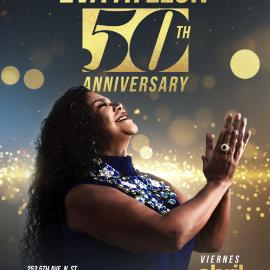Image for Eva Ayllon 50 Aniversario En St. Petersburg, FL