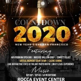 Image for Countdown 2020 - New Year's Eve San Francisco