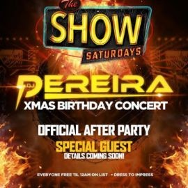 Image for Latin Saturdays DJ Pereira Christmas Birthday Concert Official After Party At Amadeus Nightclub