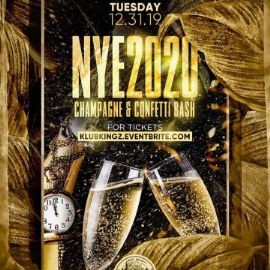 Image for NYE 2020 Champagne & Confetti Bash At Hudson Station