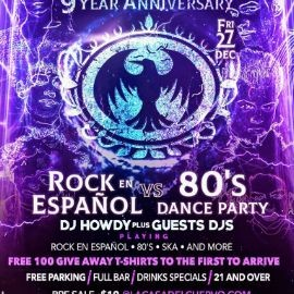 Image for 9 YEAR ANNIVERSARY LA CASA DEL CUERVO / FREE 100 T-SHIRTS GIVE AWAY