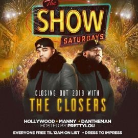 Image for Latin Saturdays Closing Out 2019 With The Closers At Amadeus Nightclub