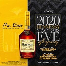 Image for NYE 2020 Hennessy After Party At Mister East