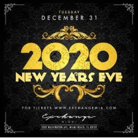 Image for NYE 2020 At Exchange Miami