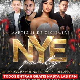 Image for New Years Eve Party en The Palace!