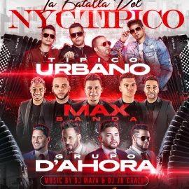 Image for La Batalla de NYC Tipico con Tipico Urbano, Max Banda y Grupo D'Ahora!