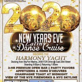 Image for New Year's Eve Fireworks Latin Cruise - Harmony Yacht