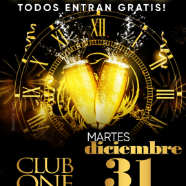 Image for Gran Fieston Fin de Año en Club One de Alexandria!