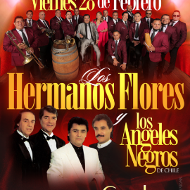 Image for LOS HERMANOS FLORES EN LOS ANGELES