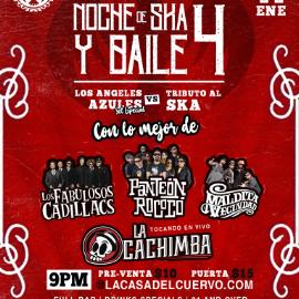 Image for LOS FABULOSOS CADILLACS / PANTEON ROCOCO / MALDITA VECINDAD / LOS ANGELES AZULES TRIBUTO EN VIVO