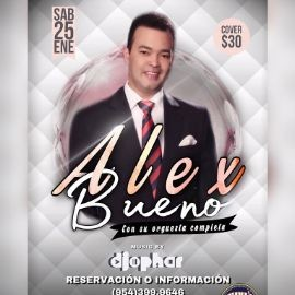 Image for ALEX BUENO EN CONCIERTO EN JUANA LATIN SPORTS BAR