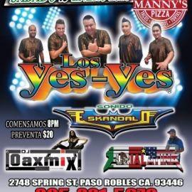 Image for Los Yes-Yes En Concierto En Paso Robles,CA
