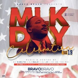 Image for MLK Weekend Bravo Bravo