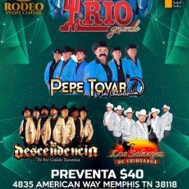 Image for Conjunto Rio Grande,Pepe Tovar,La Descendencia y Mas En Memphis,TN