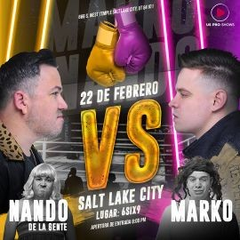 Image for Marko vs Nando de La Gente en Salt Lake City, UT
