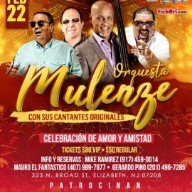 Image for Orquesta Mulenze En Concierto En Elizabeth,NJ
