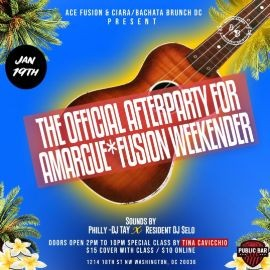 Image for Official Afterparty for Amargue*Fusion Weekender at Bachata Brunch DC