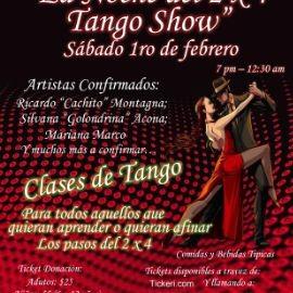 Image for Fundacion Casa Uruguay - La Noche del 2 x 4 Tango Show
