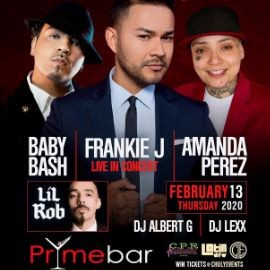 "Image for Frankie J, Baby Bash, Amanda Perez & Lil Rob Live! Old School Love ""Valentine's Edition"""