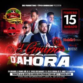 Image for EL GRUPO D'AHORA LIVE SABADO 15 DE FEBRERO EN TIPICO DOMINICANO DE MD