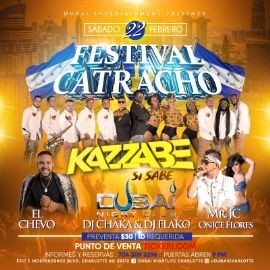 Image for Kazzabe, Chevo, Mr Jc, Onice - Charlotte, NC (Sei Sei Bei, Gira USA)