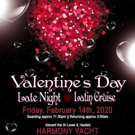 Image for Valentine's Day Late Night Latin Dance Cruise