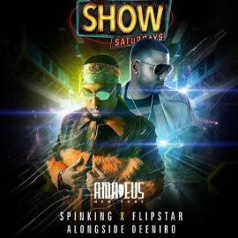 Image for Latin Saturdays DJ Spinking Live At Amadeus Nightclub