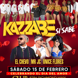 Image for Kazzabe, El Chevo, Mr JC y Onice Flores en el Gran Fieston Catracho!